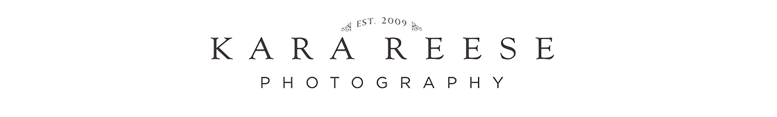 Waukesha Newborn & Baby Photographer | Kara Reese Photography logo